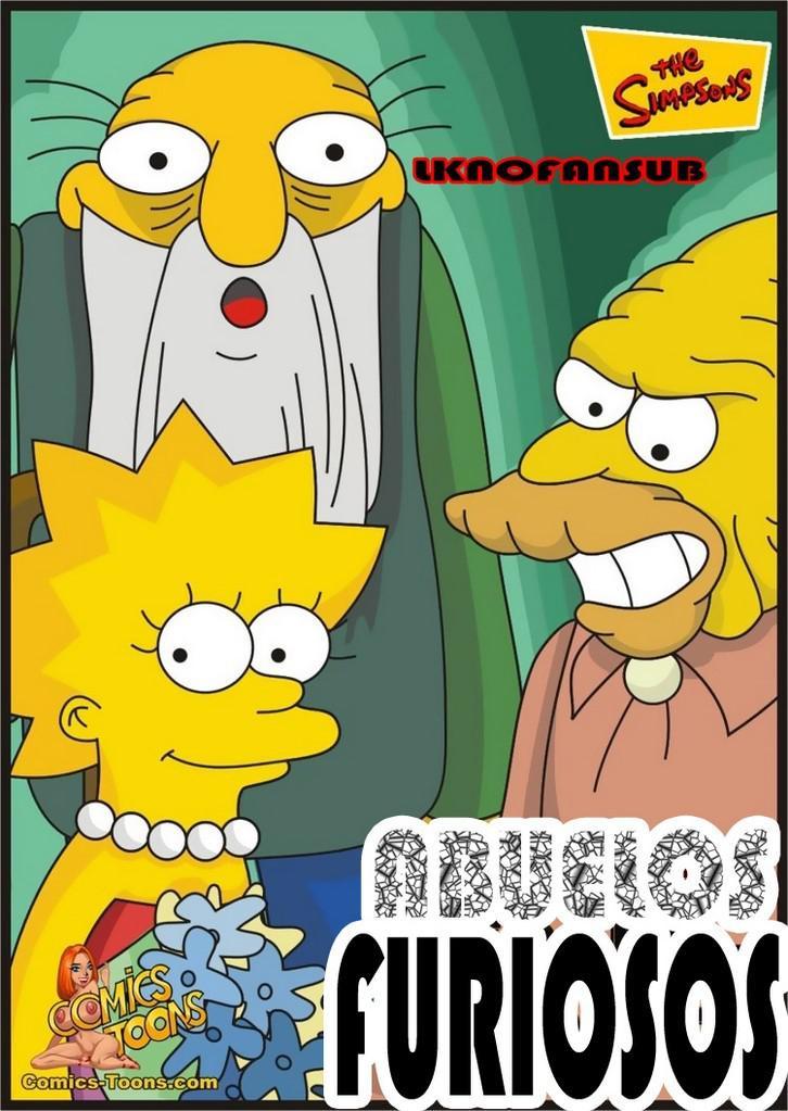 Lisa y su abuelo follando