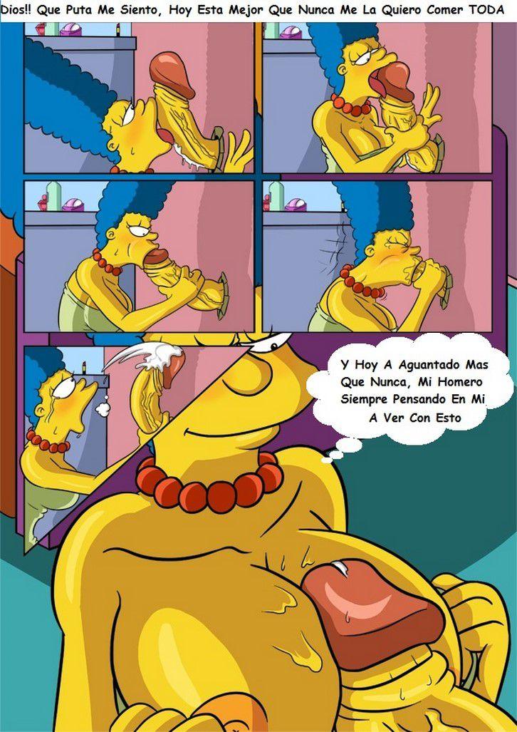 Marge y la polla de juguete