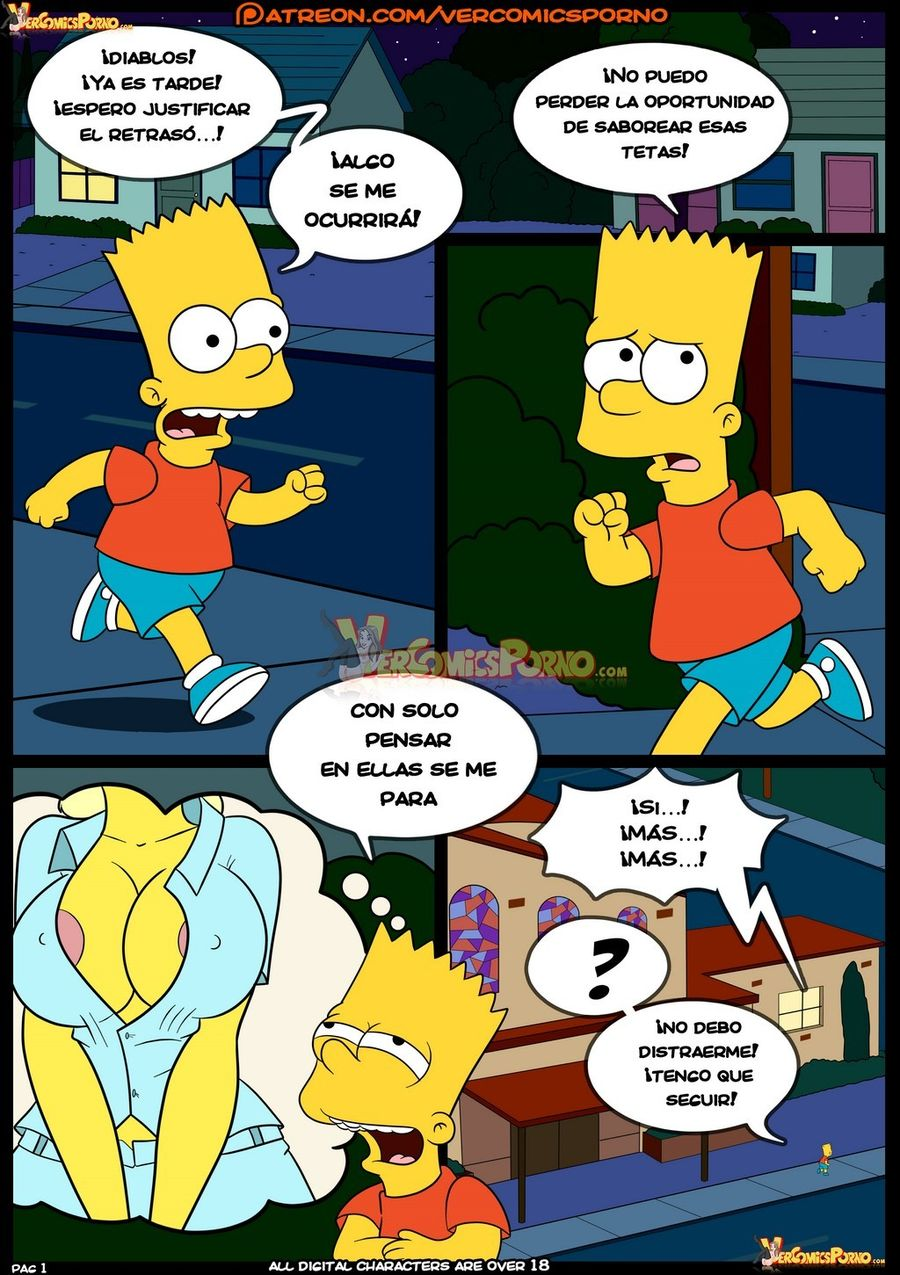 Simpsons Viejas Costumbres 08